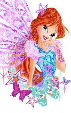 Bloom butterflix original by on DeviantArt Birthday Messages For Sister, Birthday Calender, Walt Disney, Les Winx, Barbie Images, Bloom Winx Club, Fan Picture, Disney Frozen Elsa, Club Parties