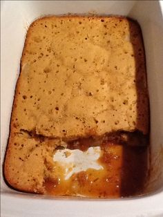 Toffee Apple Self Saucing Pudding |