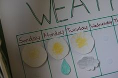 How to make a weather chart