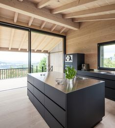 Fesselnd This One Family Home In Switzerland Replaced An Old Building Built 1972.  The New