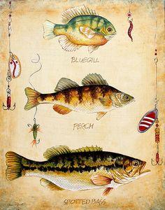 I uploaded new artwork to fineartamerica.com! - 'Fish Trio-c' - http://fineartamerica.com/featured/fish-trio-c-jean-plout.html via @fineartamerica
