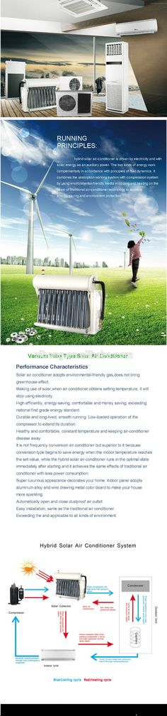 Low price solar air conditioner, View hybrid solar air conditioning, ZIHONG Product Details from Ningbo Zihong Solar Energy Co., Ltd. on Alibaba.com$200-600 https://www.youtube.com/watch?v=YLvuoHymC0Y