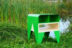 """Leap at the chance to score a fun and functional table with """"FROG"""" by the NAB Design Studio."""
