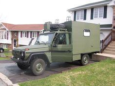 Mercedes G Wagen Ambulance Adventure Camper