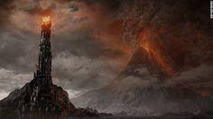Montaña de Fuego' de 'El Señor de los Anillos'