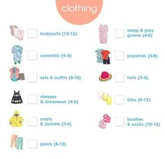 Newborn Checklist - Clothing - the bump, newbornclotheschecklist Newborn Clothes Checklist, New Baby Checklist, Baby Outfits Newborn, Baby Boy Newborn, Baby Baby, Country Baby Announcement, Sick Baby, Trendy Baby Clothes, Preparing For Baby