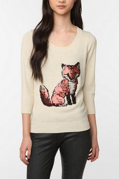 """Love this sweater, but my husband says I shouldn't get it because, """"Who are you? Brett from 'Flight of the Conchords?' lol"""