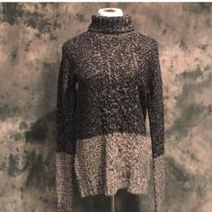 Arabella sweater Cable knit turtleneck tunic. Essential for cool weather. 30% wool 70% Can be paired with anything Lewboutiquetwo Sweaters Cowl & Turtlenecks