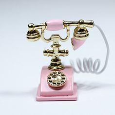 Pink Old-Fashioned Rotary Phone Telephone w/Receiver Miniature Dollhouse Toy Miniature http://www.amazon.com/dp/B00LM0BEHA/ref=cm_sw_r_pi_dp_fOdUwb0RNGQD3