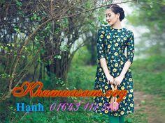 May bán và cho thuê áo dài cách tân vạt ngắn rẻ đẹp 2016