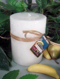 16 oz Round Pillar Tropical Fruit Scent Candle by Unique Aromas. $20.25. Tropical Fruit scent. Price per each candle. Candle color may vary from photograph. This candle is sure to bring joy and warmth to all those in the presence of it.Some assembly may be required. Please see product details.Some assembly may be required. Please see product details.
