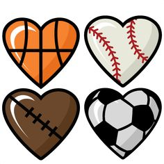 free sports clipart for parties crafts school projects websites rh pinterest com free clip art sports teams free clip art sports images