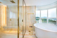 Clawfoot Bathtub, Bathroom, Log Projects, Arquitetura, Interiors, Washroom, Full Bath, Bath, Bathrooms