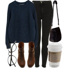 Untitled #4249 by laurenmboot on Polyvore featuring polyvore, fashion, style, Zara, Topshop, Madewell, Nomadic and clothing