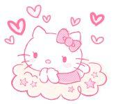 Cute Smile - Sanrio Animated Gifs: Hello Kitty:)