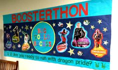 #CraftHack Turn our Boosterthon posters into kid-athlete cutouts and create an awesome bulletin board like this!