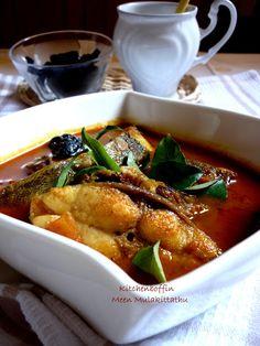 Kitchen Boffin: Meen Mulakittathu / Red hot Kerala fish curry