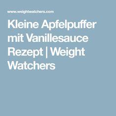 Kleine Apfelpuffer mit Vanillesauce Rezept   Weight Watchers