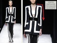 Bold Stripes at Balmain - The Cutting Class Geometric Fashion, Fashion Details, Fashion Design, 2015 Trends, Bold Stripes, Dress Silhouette, Sheer Fabrics, Ss 15, Spring Summer 2015