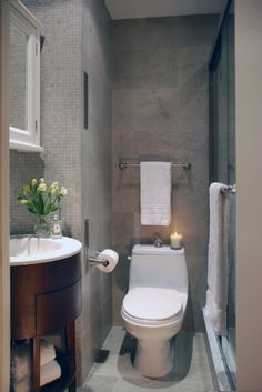 small basement bathroom
