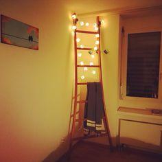 Unique happy design - fairy lights atelier171.com Happy Design, Fairy Lights, Ladder Decor, Unique, Handmade, Home Decor, Atelier, Hand Made, Decoration Home
