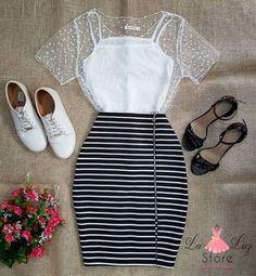 Girls Fashion Clothes, Teen Fashion Outfits, Mode Outfits, Skirt Outfits, Girl Fashion, Fashion Dresses, Clothes For Women, New Clothes, Fashion Ideas
