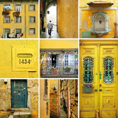 o Porto é... o Porto is... amarelo