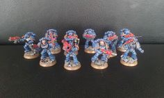 WrocWar: Showcase: Space Marines Tctical Squad
