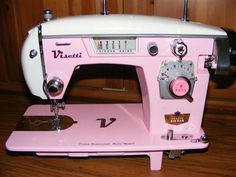 such prettiness - custom painted (and refurbished) sewing machines by www.sewingmachinesteve.com