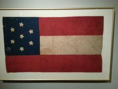 The first Confederate flag
