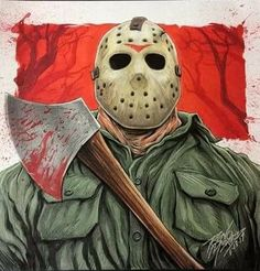 Jason Voorhees-Friday The -13th........