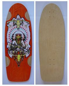 AUCTION ENDS WEDNESDAY 04/16! Bulldog Skates BDS Chief Collectible Skateboard Deck Wes Humpston Dogtown