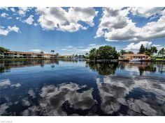 Gorgeous lake views in the Anchorage, a 55+ Cape Coral neighborhood