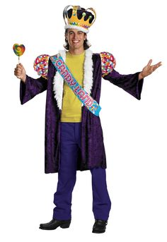 Our Deluxe Candy Man Costume will have you singing and laughing this Halloween. Become the leader of the chocolate factory with this deluxe costume.  sc 1 st  Pinterest & Our Deluxe Candy Man Costume will have you singing and laughing this ...