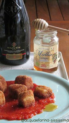 bocconcini di primosale in salsa di peperoni con miele/nuggets primosale in pepper sauce with honey: