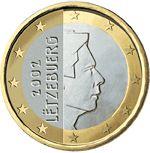BCE: 1€ de Luxemburgo