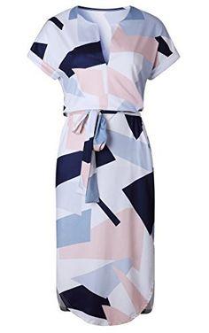 tements 2017 Robe D  eacute gant Mignon Ceintures V-cou Sexy Mince Gaine  Robe Femmes Robes. New Deals USA · Women s Clothing   Accessories d3ef9be03e4