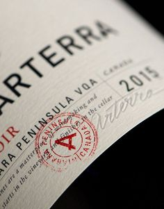 Arterra (Constellation Brands) Packaging/Logo/Naming on Behance