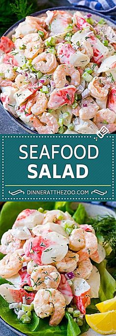 seafood-salad-recipe-shrimp-salad-recipe-crab-salad-salad-shrimp-crab-se/ - The world's most private search engine Sea Food Salad Recipes, Fish Recipes, Healthy Recipes, Fruit Recipes, Lunch Salad Recipes, Summer Salad Recipes, Healthy Dishes, Diabetic Recipes, Healthy Meals