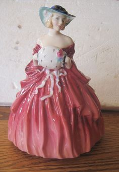 Royal Doulton Figurine Genevieve 1962 HN BF by BandCEmporium, $295.00