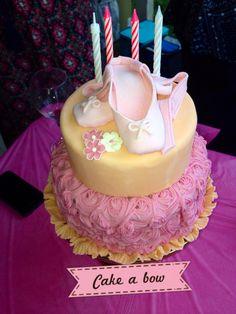 Ballerina cake!