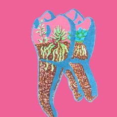 #tooth #teeth #terrarium #redbubble #humantooth #humanteeth #anatomy #art #drawing #succulents