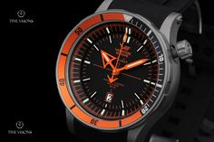Vostok Europe Anchar Watch with Titanium Case & Tritium Illumination, 2 Extra Straps and Dry Box - NH35A-5107173