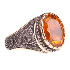 Chimera Topaz Ring - Shop rings from Italy's Best Artisans: fine jewelry handcrafted in Italy - Fine Jewelry from Italy's Best Artisans - Artemest
