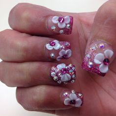 these nails<3