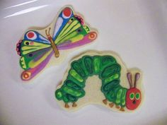 Caterpillar and Butterfly | My daughter's teacher is having … | Flickr