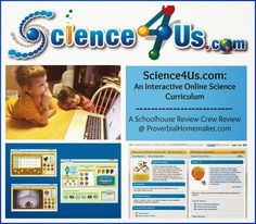 Review of Science4Us.com: An Interactive Online Science Curriculum by ProverbialHomemaker.com