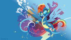 Wonderbolt Dash Silhouette Wall by SambaNeko on DeviantArt