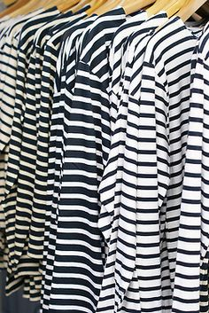 Striped boatshirts