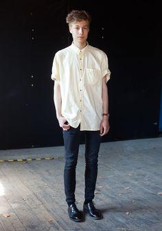 "Petri, 16    ""Tommi Evilä inspires my style.""  11 June 2011, Old Customs House"